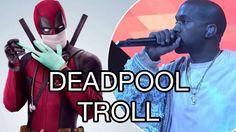 Ryan Reynolds Trolls Kanye West Saturday Night Live #SNL #TLOP #KanyeWest #Deadpool #TheLifeofPablo #Deadpool Ryan Reynolds Deadpool, Snl Saturday Night Live, Kanye West, Troll, Taylor Swift, Audio