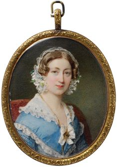 Sir William Charles Ross, RA (1794-1860) Portrait of Magdalena Dalton, born Ross About 1835–40