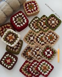 # # # # # # # # # # # # # # # # # # # # # # # # # # # # # Today # Today # Our # Today # – crochet blanket Granny Square Häkelanleitung, Granny Square Crochet Pattern, Crochet Blocks, Crochet Squares, Crochet Blanket Patterns, Crochet Granny, Crochet Motif, Crochet Designs, Crochet Flowers