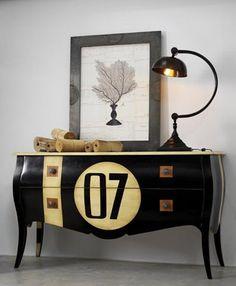 love it. Lovely numbered dresser classic             ♪ ♪    ... #inspiration_diy GB