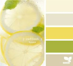 another color scheme, greys & yellows with a splash of chartreuse