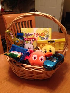 Easter basket for 2 year old toddler for the babe pinterest easter basket for 2 year old toddler for the babe pinterest jets cestas de pascua y nios pequeos negle Gallery