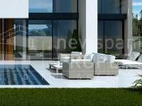 for sale,villas,modern,laguna villas, ciudad quesada,costa,blanca,op018-terrace