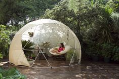 Garden Igloo/ Everyone needs one of these.