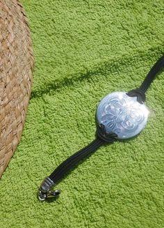À vendre sur #vintedfrance ! http://www.vinted.fr/accessoires/bracelets-and-joncs/25023809-bracelet-diva-noir-et-argent