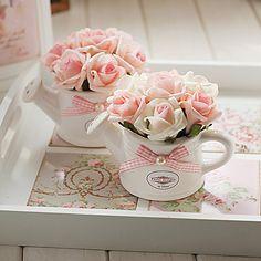 Ideas Flowers Gift Bouquet Floral Arrangements Center Pieces For 2019 Bouquet Cadeau, Gift Bouquet, Fake Flowers, Amazing Flowers, Artificial Flowers, Floral Flowers, Flower Art, Rosen Arrangements, Floral Arrangements