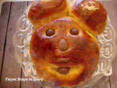 Τσουρέκια με ζαχαρούχο - Γιαγιά Μαίρη Εν Δράσει Biscuits, Muffin, Bread, Breakfast, Food, House, Crack Crackers, Morning Coffee, Cookies