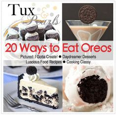 SOOOO cute!! You could do this for a wedding shower, OR a wedding as a dessert, baby shower, etc etc etc! Very cute. I Gotta Create!: Tuxedo and Pearls Oreo Cookies