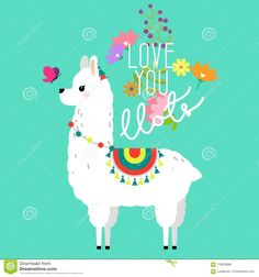 26 New Ideas For Birthday Ilustration Design Baby Shower Alpacas, Llamas Animal, Cartoon Llama, Llama Decor, Llama Face, Llama Arts, Cute Llama, Baby Llama, Llama Birthday