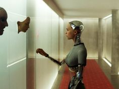 Domhnall Gleeson is introduced to Alicia Vikander in a quietly haunting clip from 'Dredd' writer Alex Garland's upcoming sci-fi film, 'Ex_Machina'. Best Sci Fi Films, Sci Fi Movies, Good Movies, Fiction Movies, Indie Films, Oscar Isaac, Alicia Vikander, Blade Runner, Ex Machina Movie