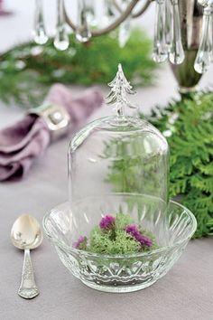 El cristal como decoración