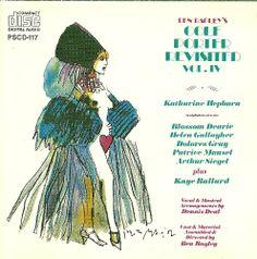 Harvey Schmidt 1990 Ben Bagley's Cole Porter Revisited, Vol. IV [Painted Smiles PSCD-117] #albumcover #illustration