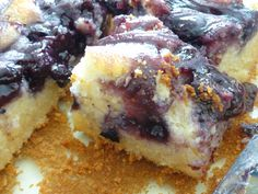 Blueberry Butter Mochi Ono Hawaiian Food, Hawaiian Desserts, Asian Desserts, Hawaiian Recipes, Snack Recipes, Dessert Recipes, Cooking Recipes, Okinawan Sweet Potato, Butter Mochi