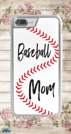 Our baseball mom iPhone case is the perfect way to surprise your favorite baseball mom this Mother's Day! Now available in iPhone 7 and 7 Plus!