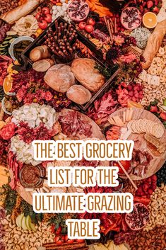 How to Create a Grazing Table Your Guests Will Never Forget. – a master grocery… How to Create a Grazing Table Your Guests Will Never Forget. – a master grocery list for all the items you need including things that will really… Continue Reading → Plateau Charcuterie, Charcuterie And Cheese Board, Charcuterie Platter, Cheese Boards, Party Snacks, Appetizers For Party, Appetizer Recipes, Appetizers Table, Food Platters