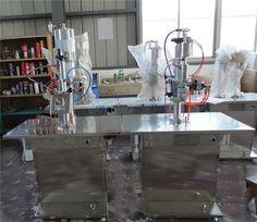 spray paint aerosol tin can filling machine     More: https://www.aerosolmachinery.com/sale/spray-paint-aerosol-tin-can-filling-machine-2.html