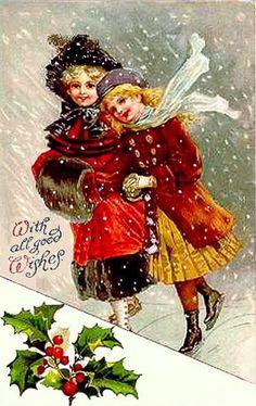 Vintage Christmas Postcard #