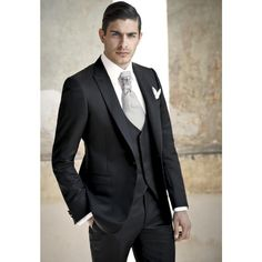 >> Click to Buy << 2017 Hot Sale Limited Terno Custom Tuxedos Mens Wedding Suits For Men Morning Groomsmen Groom Tuxedos(jacket+pants+vest) F390  #Affiliate