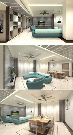 Share this on WhatsApp Lavish Apartment Interiors