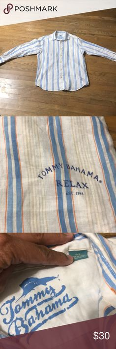 Mens Tommy Bahama Long Sleeve Boat Shirt Sz Small Mens Tommy Bahama Long Sleeve Boat Shirt Sz Small Tommy Bahama Shirts Casual Button Down Shirts