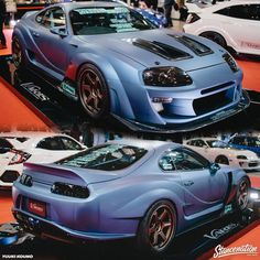 More Tokyo Auto Salon coverage up on our site! Toyota Supra Mk4, Toyota Celica, Tuner Cars, Jdm Cars, My Dream Car, Dream Cars, Street Racing Cars, Exotic Sports Cars, Toyota Trucks