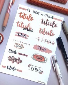 Are you looking for bullet journal fonts to add creative flair to your journal and improve your handwriting? These fabulous fonts for your bullet journal are perfect for the bujo addict! Bullet Journal Headers, Bullet Journal Banner, Bullet Journal Lettering Ideas, Journal Fonts, Bullet Journal Notebook, Bullet Journal School, Bullet Journal Ideas Pages, Bullet Journal Inspiration, Bullet Journal Writing Styles