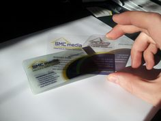 Contact us at SMC Media to print plastic business cards at most affordable prices in Canada. #plasticbusinesscardprinting