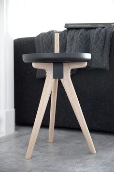 This multi-functional furniture is a tray, table, and stool in one.