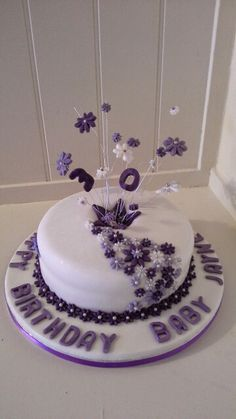 Amy Jayne's 30th cake