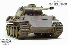 ___MODELLERS OF FORTUNE___: Pz.Kpfw.V Panther Ausf.D