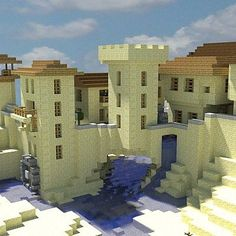 Fortified Desert Village Minecraft Project