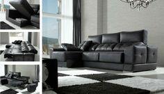 Sofassinfin.es Sofá con chaise-longue modelo Danco fabricado en España por Acomodel.