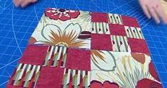 Quilt o colcha de patchwork - Bloque 4