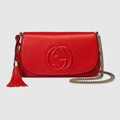 Gucci Women - Soho leather shoulder bag - 336752A7M0G6523
