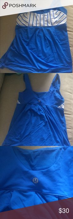 Lululemon tank Perfect condition lululemon workout tank lululemon athletica Tops Tank Tops