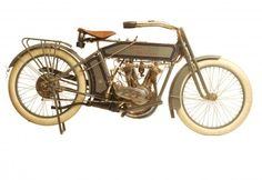 "George Pardos Collection ""Evolution of the Harley-Davidson Motorcycle"": 1914 Harley Davidson 10F Twin"