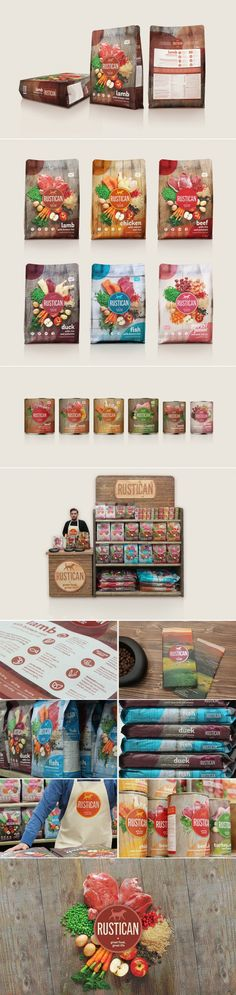 Check Out The Attractive Product Photography For Rustican Pet Food — The Dieline   Packaging & Branding Design & Innovation News