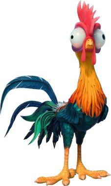 Heihei is a character in the 2016 Disney animated feature film Moana. He is a rooster that. Moana Disney, Disney Love, Disney Magic, Disney Art, Disney Pixar, Disney Characters, Disney Sidekicks, Disney Wiki, Moana Birthday Party