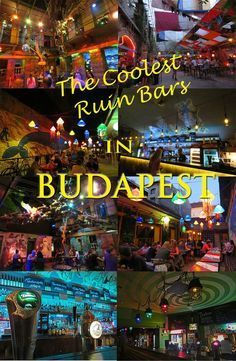 We spent 2 months in Budapest - and fell in love with Ruin Bars. All about ruin bars here and which you should visit: http://bbqboy.net/coolest-ruin-bars-budapests-jewish-district/ #budapest #ruinbars #hungary