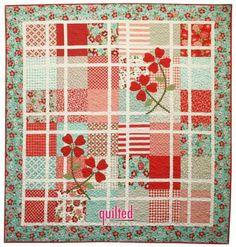 layer cake quilt | quilt ideas | Pinterest