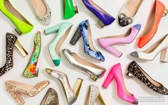 377b2f302a33 J.Crew spring style guide- shoes in a rainbow of colors and textures.