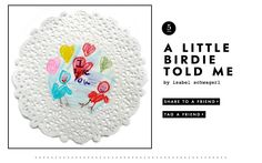 A little birdie told me valentine from @kate spade new york