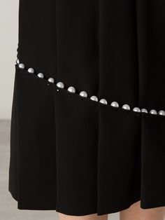 Comme Des Garçons Noir Kei Ninomiya パールディテール スカート