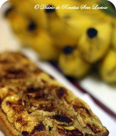 O Diário de Receitas Sem Lactose: Bolo de Banana com Amaranto (Sem Lactose, Sem Glúten)