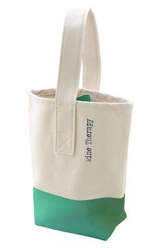 Love this! Cute hostess gift or perfect for beach or picnic!  Wine Tote | Nordstrom