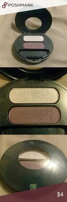 Avon lavender and deep purple eyeshadow Case is not perfect but only used once maybe twice. Avon Makeup Eyeshadow