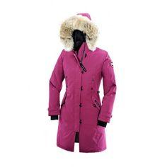 cheap retailers canada goose kensington parka red canada free shipping