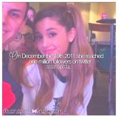 Ariana Grande fact by @arianafxcts