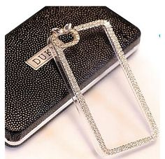 Elegant Decorated with Diamond Frame Bling Case for iPhone 6 iPhone 6 Plus