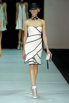I really love the new Emporio Armani Spring 2012 Collection